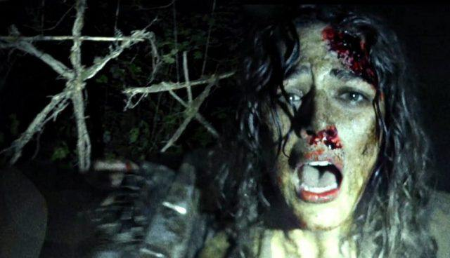 A found footage shot from 'Blair Witch'