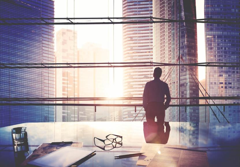 Businessman Leader Thinking