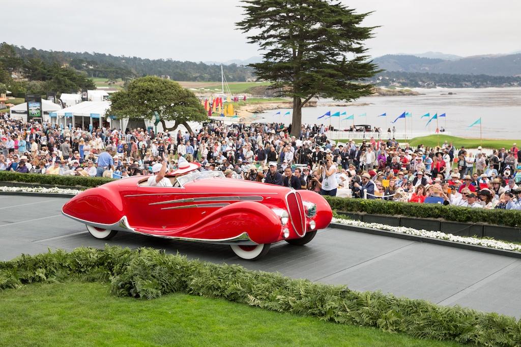 1938 Delahaye 165 Figoni & Falaschi Cabriolet