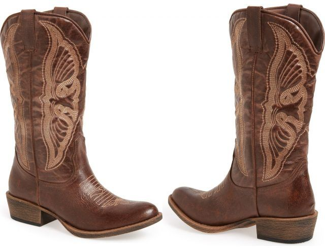 Coconuts by Matisse cowboy boots