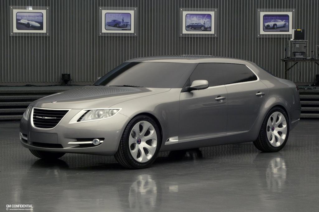 2010 Saab 9-5 prototype