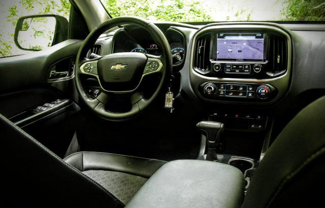 Chevy Colorado Interior