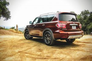 2017 Nissan Armada Review: Off-Road and On Patrol