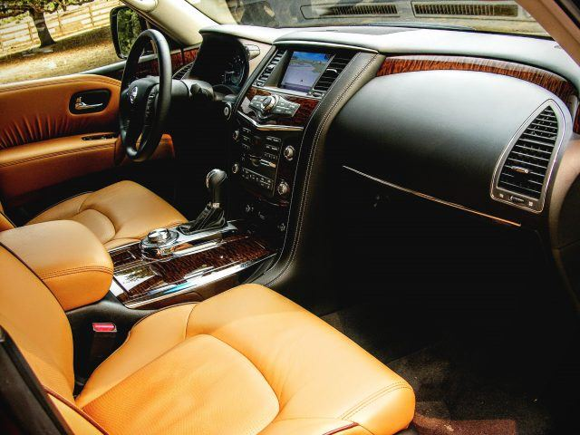 2017 Nissan Armada Interior | Micah Wright/Autos Cheat Sheet