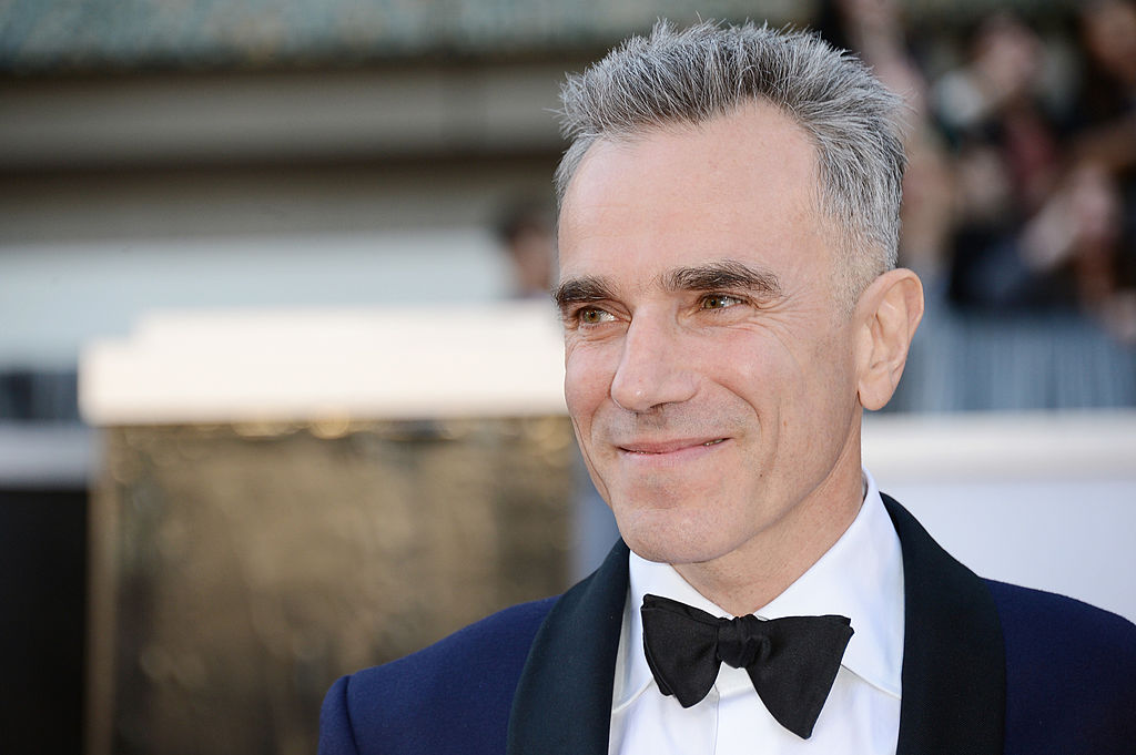Actor Daniel Day-Lewis arrives at the Oscars