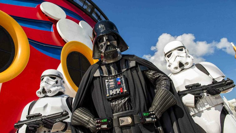 Disney Cruise Darth Vader