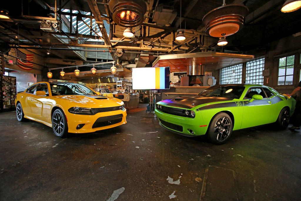 2017 Dodge Charger and Challenger