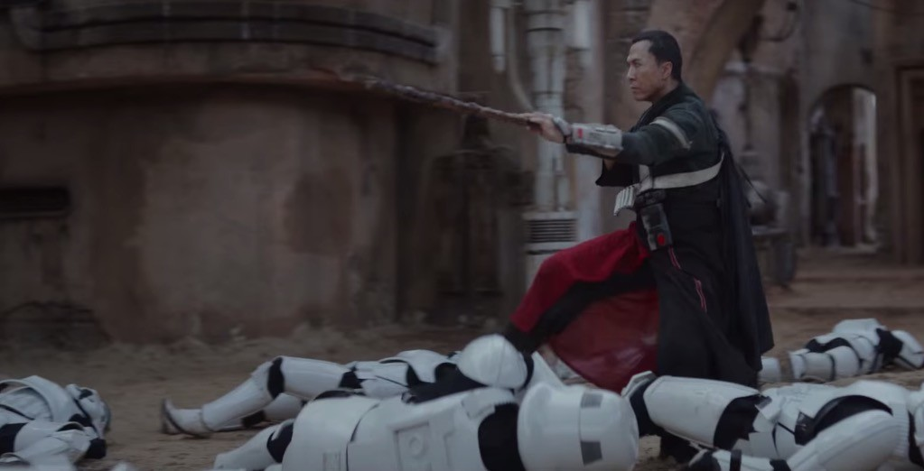 Image result for rogue one donnie yen