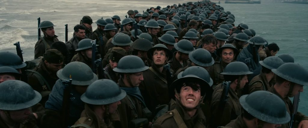 Soldiers in Dunkirk