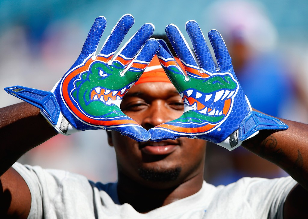 Florida Gator player