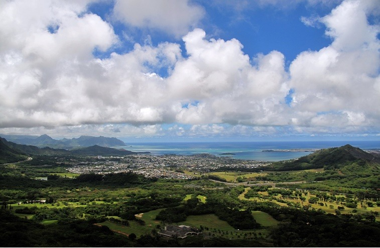 General view of the City of Honolulu