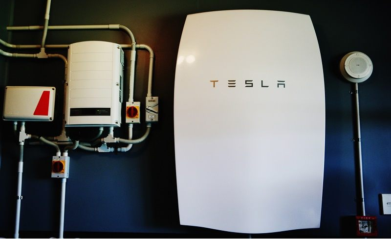 The Tesla Powerwall battery is shown installed at Rongomai School on May 13, 2016 in Auckland, New Zealand. The Powerwall and solar system by lines company Vector was launched at Otaras Rongomai School, one of thirty Auckland schools which will benefit from the state-of-the-art solar and battery package.