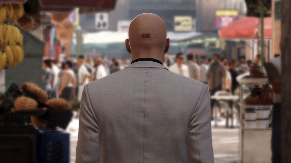Agent 47 in Hitman: Episode 3 - Marrakesh