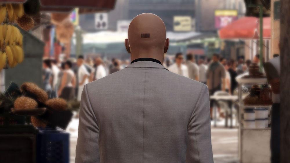Agent 47 in Hitman: Episode 3 - Marrakesh