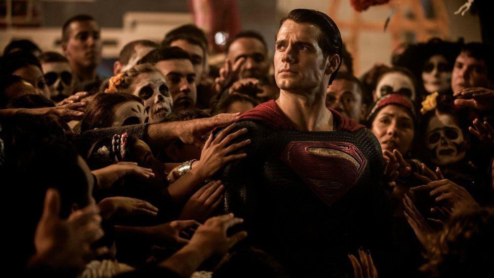 Henry Cavill in Batman v Superman: Dawn of Justice