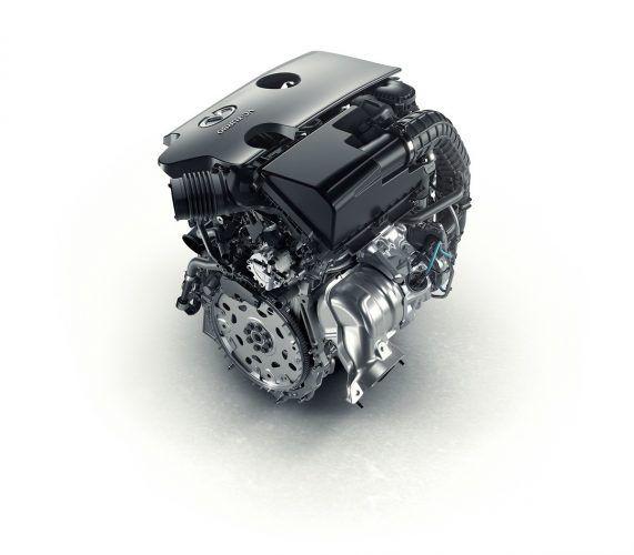 Infiniti turbo four-cylinder engine