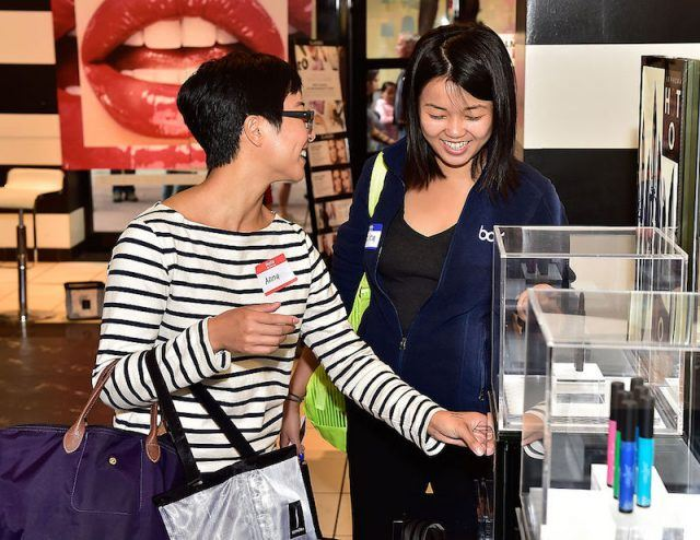 SAN FRANCISCO, CA - AUGUST 03: Invite customers shop at the VIB Rouge Reception at Sephora Powell on August 3, 2014 in San Francisco, California.