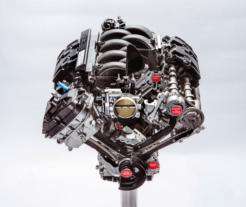 """5.2 liter Ford """"Voodoo"""" V8"""