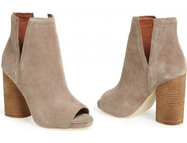 Jeffrey Campbell open-toe booties