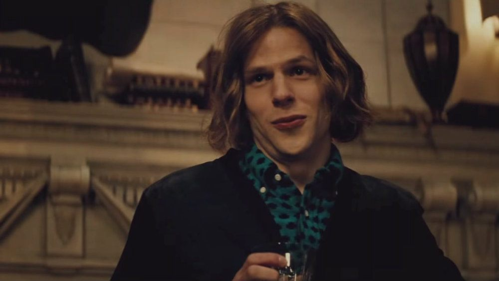 Jesse Eisenberg in Batman v Superman Dawn of Justice