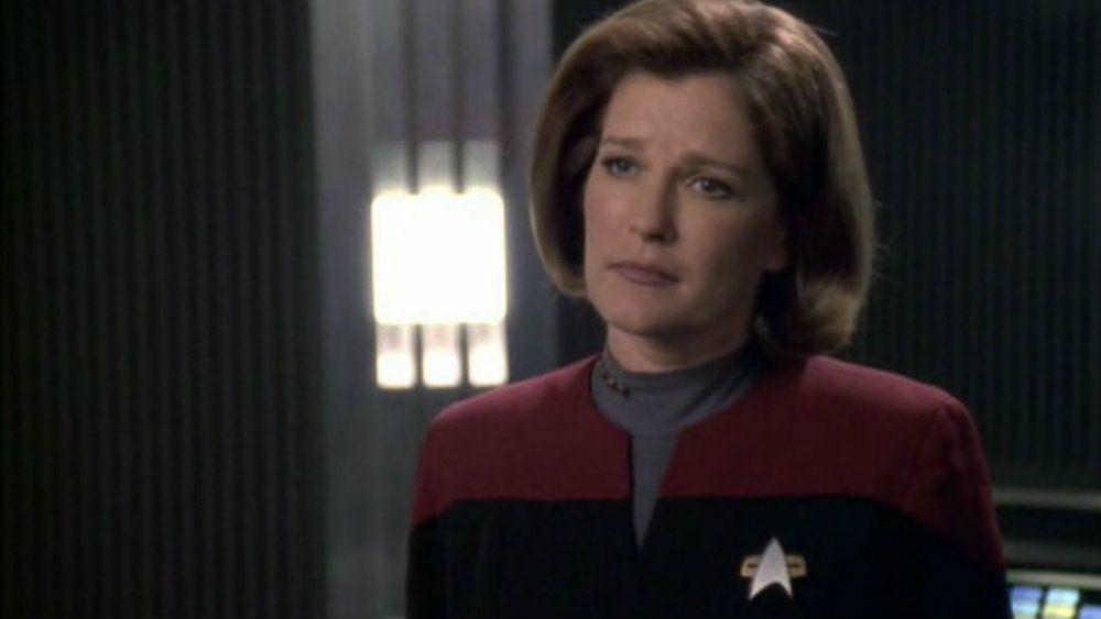 Kate Mulgrew in Star Trek: Voyager
