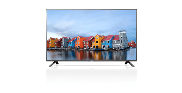 An LG television that supports HDR