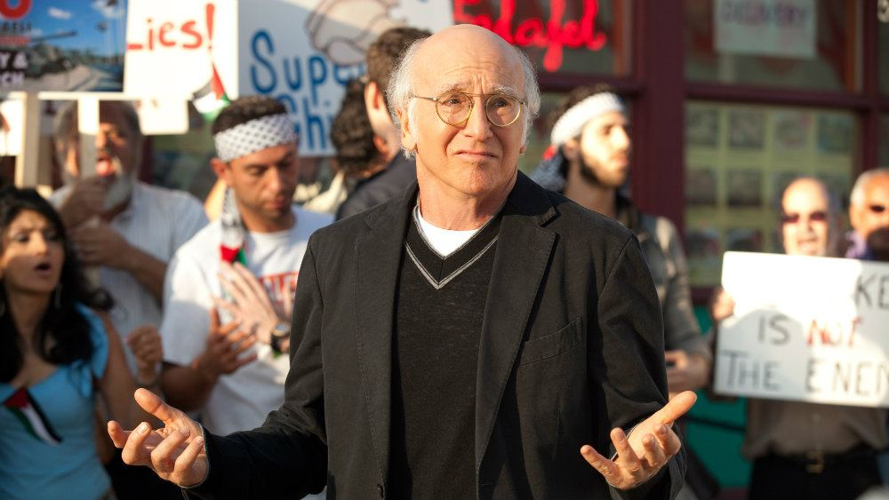 Larry David on Curb Your Enthusiasm