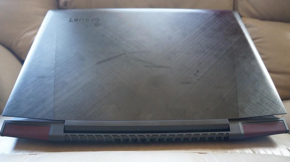rear view of Ideapad Y700