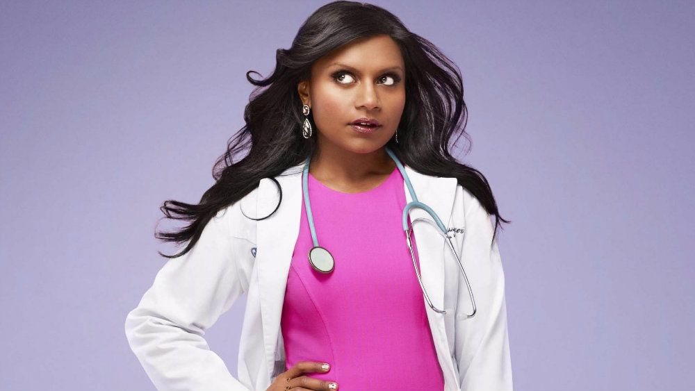 MIndy Kaling dressed as a doctor