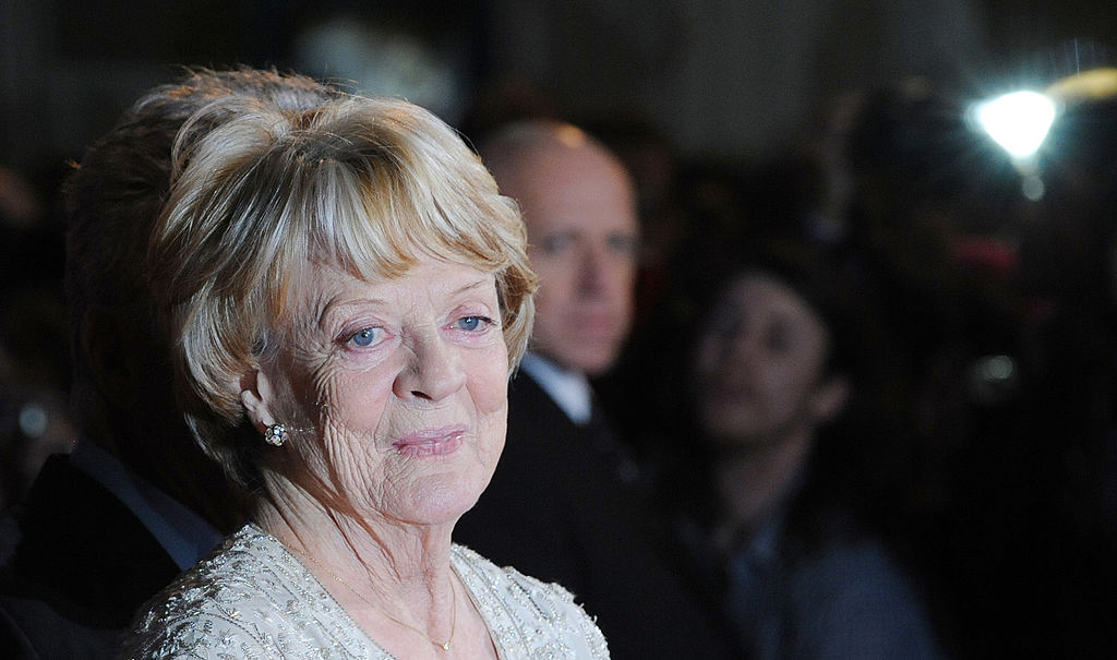 Maggie Smith attends the Premiere of 'Quartet'