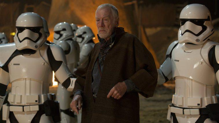 Max von Sydow in Star Wars The Force Awakens