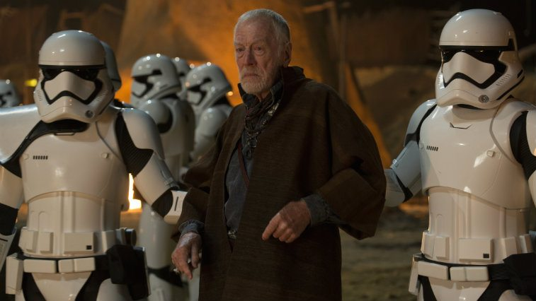 Max von Sydow in Star Wars The Force Awakens