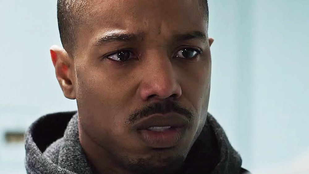 Michael B Jordan in Creed