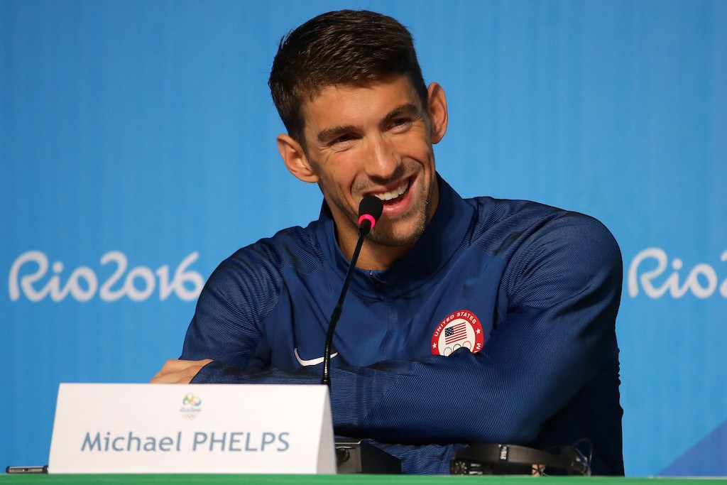 Michael Phelps knows he's good