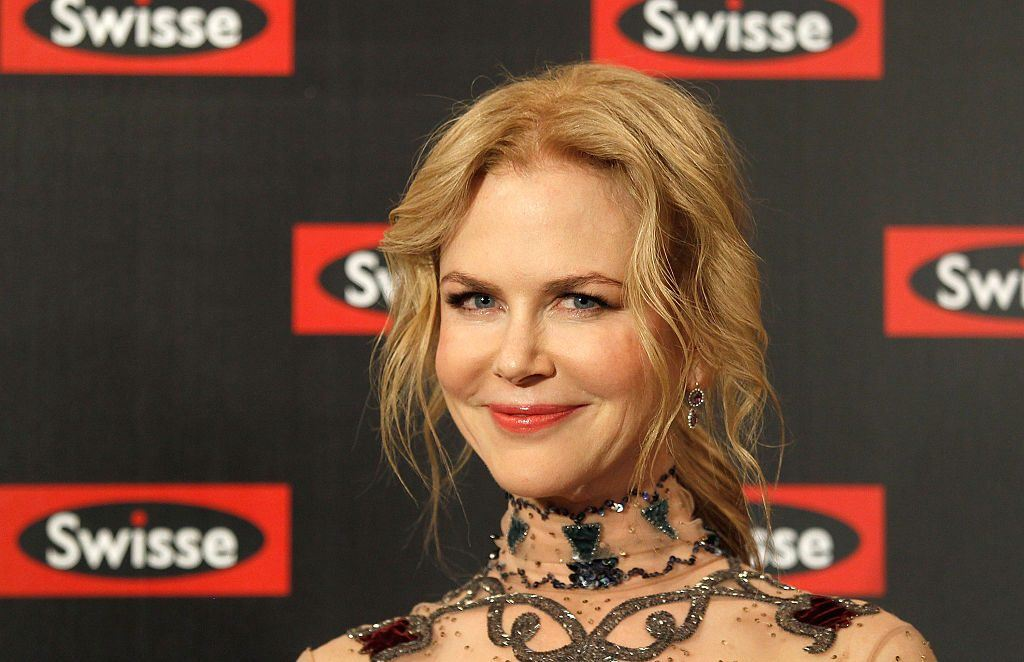 Nicole Kidman smiling at a Swisse event.