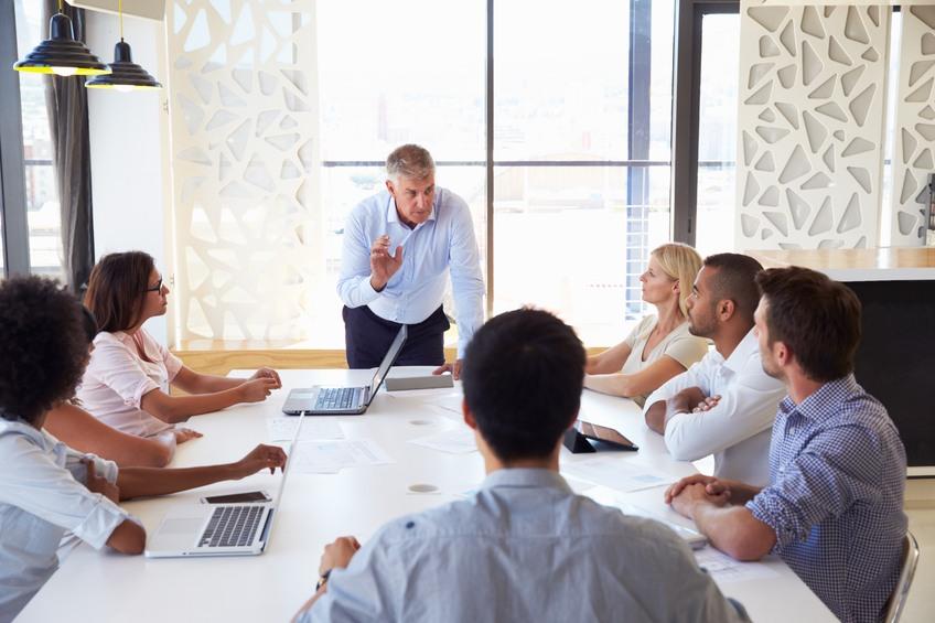 Presentation at a meeting