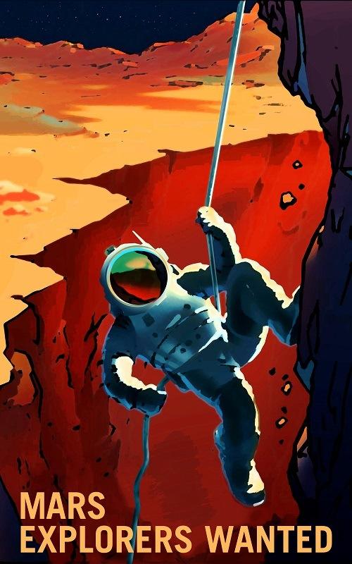 Mars needs explorers