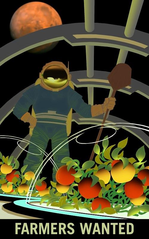 Martian farming
