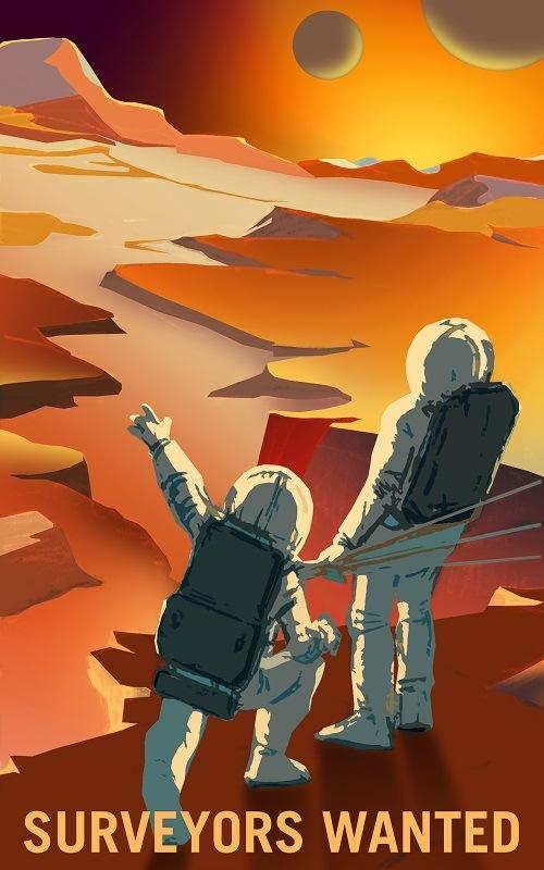 Surveying the Martian landscape