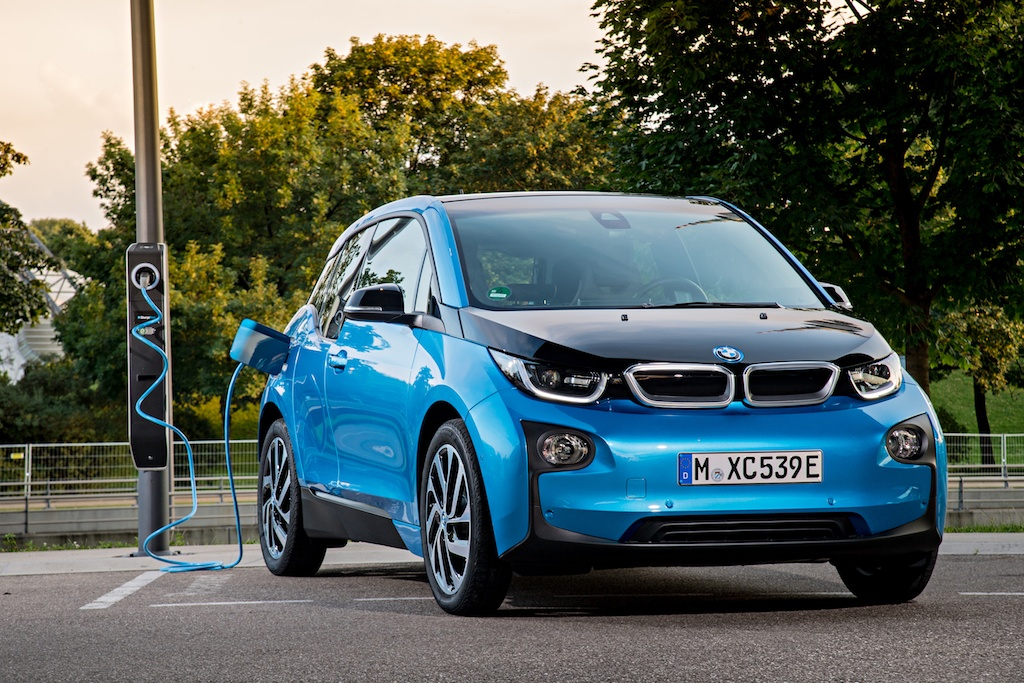 The BMW i3 charging