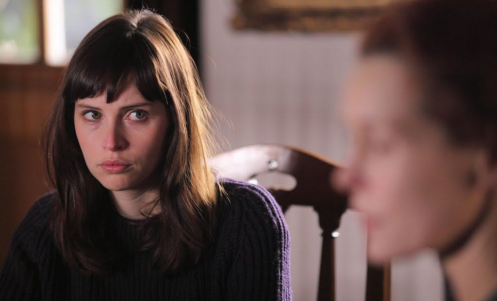 Felicity Jones in 'Page Eight'