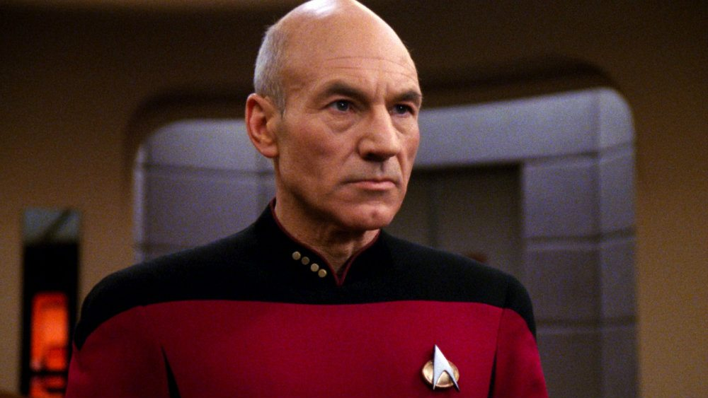 Patrick Stewart in Star Trek: The Next Generation
