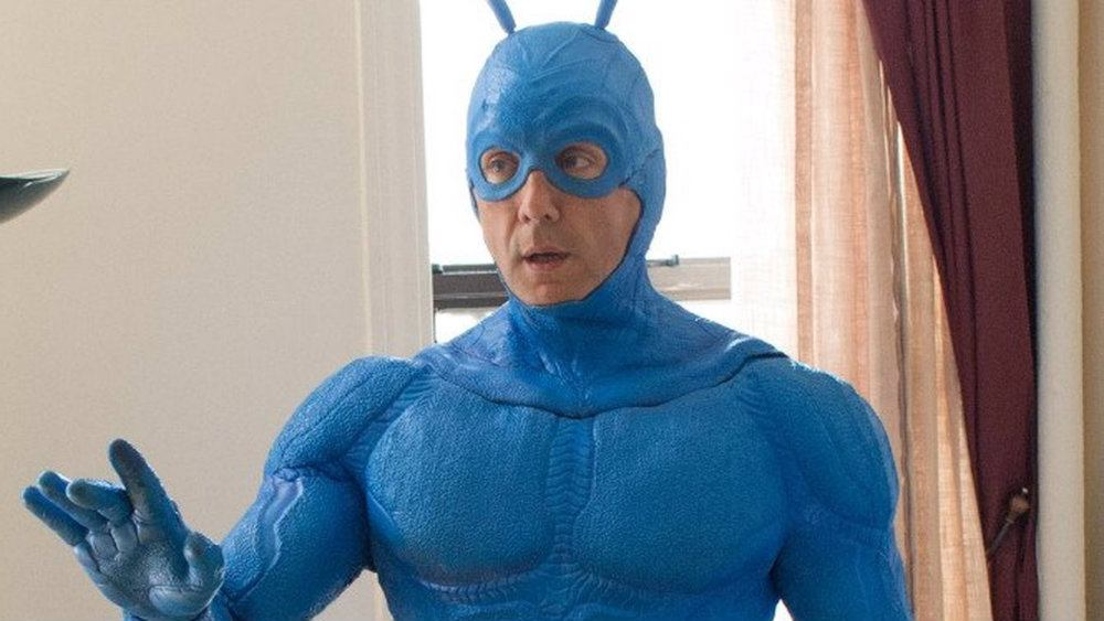Peter Serafinowicz in The Tick
