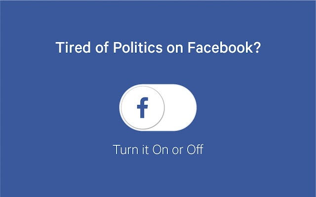 Remove All Politics from Facebook - Chrome extensions