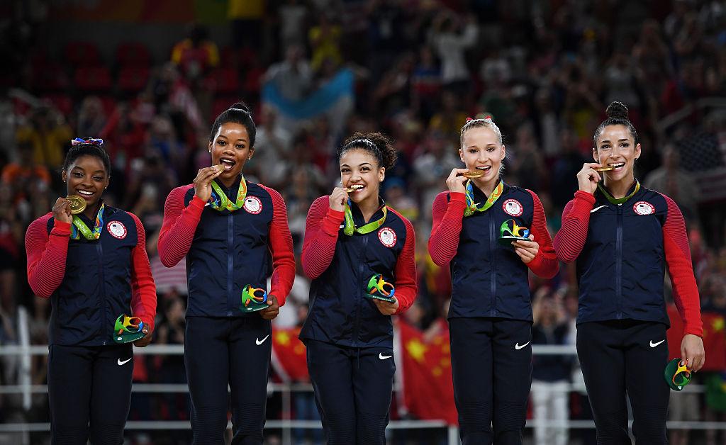 gold medal, Rio 2016 women's gymnastics
