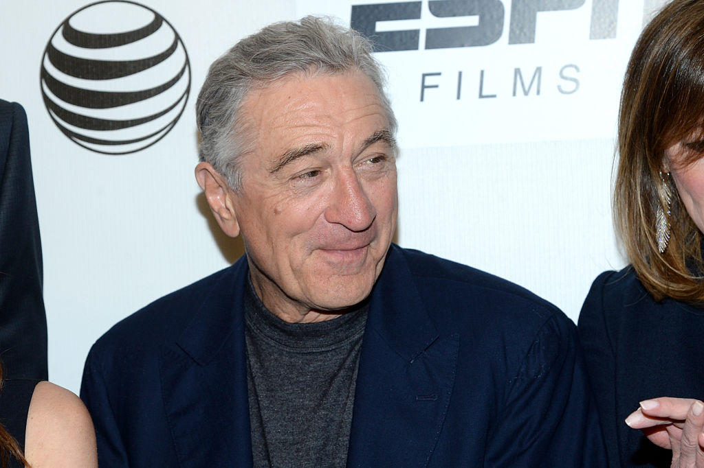 Robert De Niro attends the Tribeca/ESPN Sports Film Festival