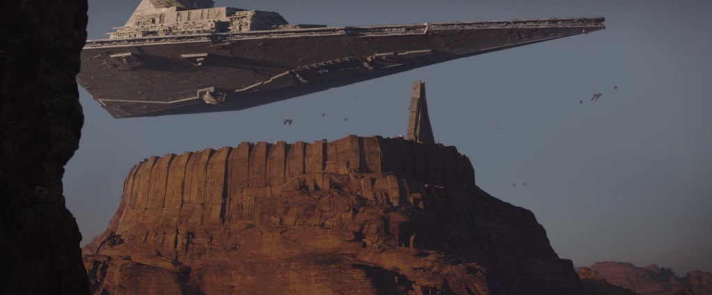 Rogue One Star Destroyer