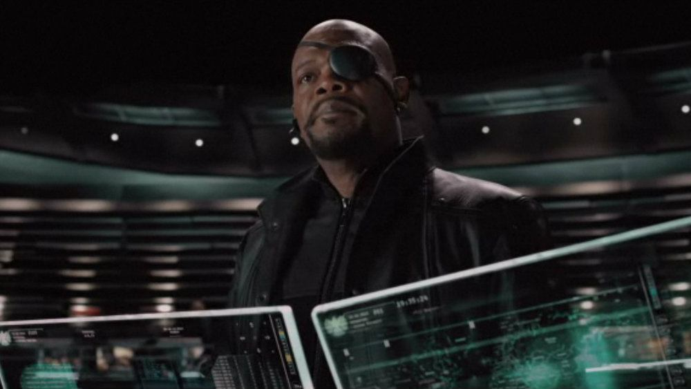 Samuel L Jackson in The Avengers