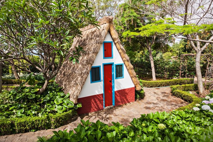 Santana house in Portugal, tiny house