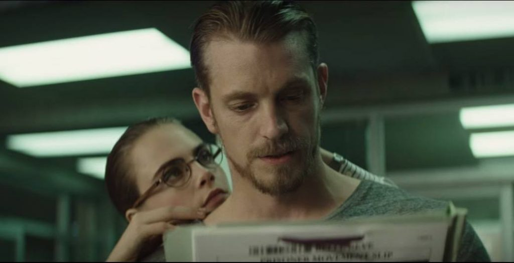Rick Flag and June Moone in Suicide Squad